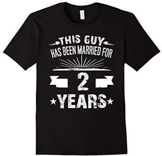 2nd Wedding Anniversary Gifts 2 Year Shirt For Him