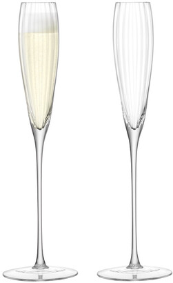 LSA International Aurelia Grand Champagne Flute - Set of 2