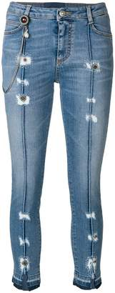 Ermanno Scervino distressed skinny jeans