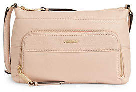 Calvin Klein Lily Leather Crossbody Bag