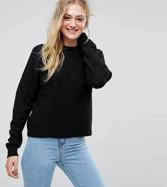 Asos Tall TALL Jumper In Fluffy Yarn With Crew Neck