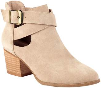 Sole Society Cutout Booties - Azure