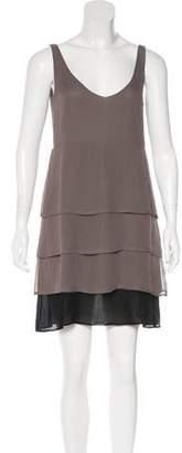 Jasmine Di Milo Pleated Silk Dress