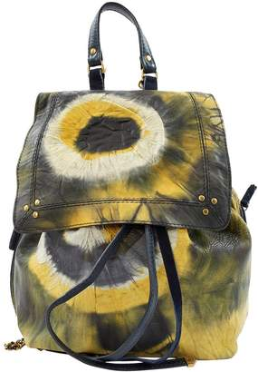 Jerome Dreyfuss Leather Backpack