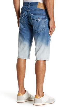 True Religion Faded Cutoff Denim Shorts