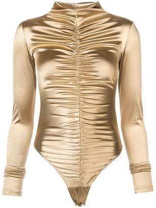 Fantabody Maria metallic bodysuit
