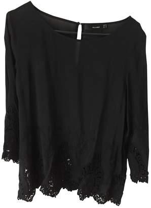 Hallhuber Black Cotton Top for Women