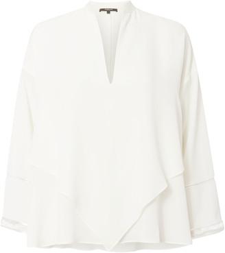 Derek Lam Handerchief Silk Blouse $1,250 thestylecure.com