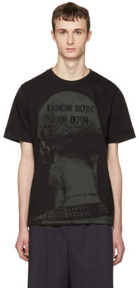 Juun.J Black I Know Both I Am Both T-Shirt