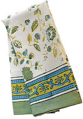 Couleur Nature Set of 3 Joy Tea Towels - Green