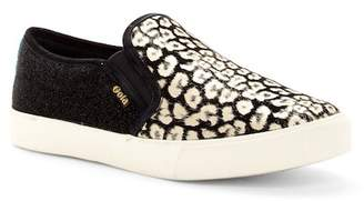 Gola Orchid Safari Suede Slip-On Sneaker
