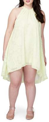 Rachel Roy Jacqueline Burnout Swing Dress