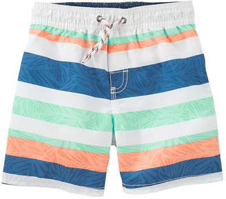 Osh Kosh Oshkosh Stripe One Piece Swimsuit Toddler Boys