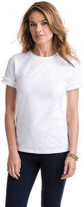Vineyard Vines Short-Sleeve Pleated Grosgrain Tee