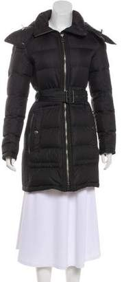 Burberry Hooded Down Coat