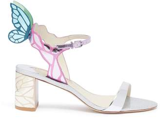 d6fcc51432 Sophia Webster 'Chiara' butterfly wing mirror leather sandals