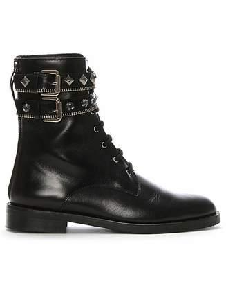 Daniel Footwear Daniel Whitfield Embellished Biker Boots