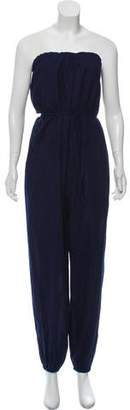 Boy By Band Of Outsiders Belted Strapless Jumpsuit