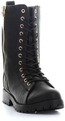 93c44a21d66c8 Seven7 SEVEN 7 Seven 7 Womens Mr. Zipper Combat Boots Zip