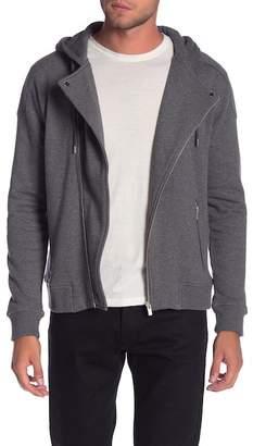 The Kooples Classic Fleece Hooded Jacket
