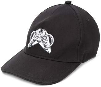 Just Cavalli embroidered front cap