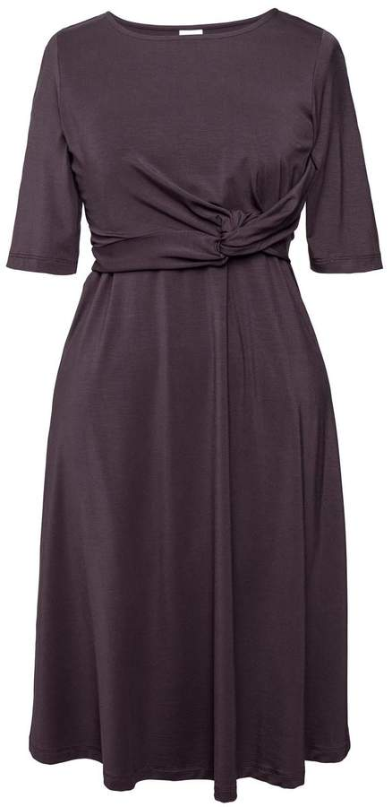 Boob Design Twist Dress Cassis