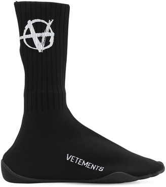 Vetements Karate Anarchy Sock Sneakers