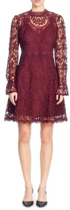 Catherine Malandrino Miia Lace Fit & Flare Dress