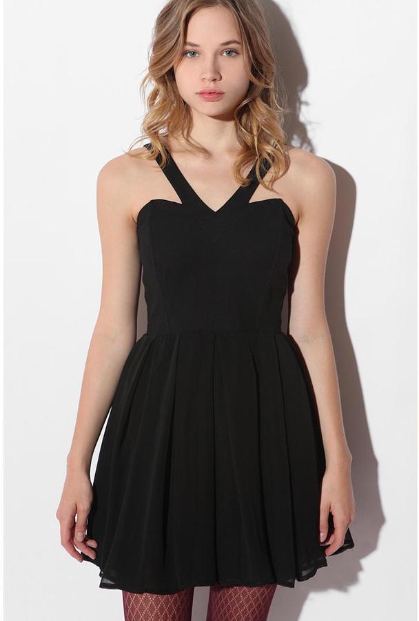 Angelina V-Neck Dress