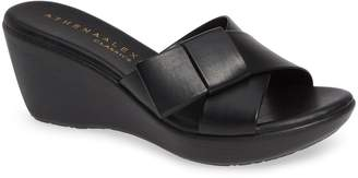 Athena Alexander Striker Wedge Slide Sandal