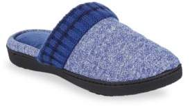 Isotoner Heathered Quilted Slippers