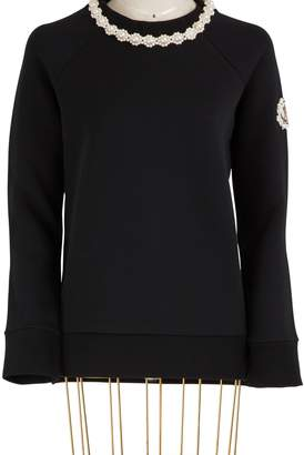 Simone Rocha Moncler Genius 4 Moncler jewel collar sweater