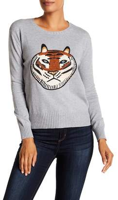 French Connection Tiger Knit Sweater