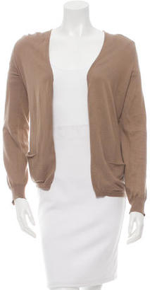 Vera Wang Open Front Knit Cardigan $95 thestylecure.com