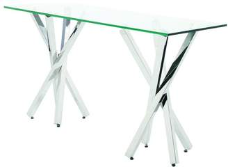 clear Nuevo Living Francois Console Table,