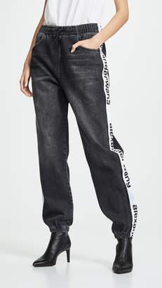 Alexander Wang Denim X Track Pants