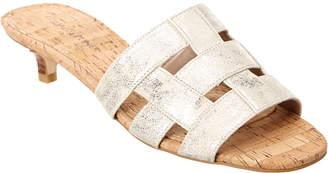 Donald J Pliner Etta Caged Leather Sandal