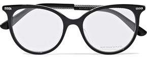 Bottega Veneta Cat-Eye Acetate Optical Glasses