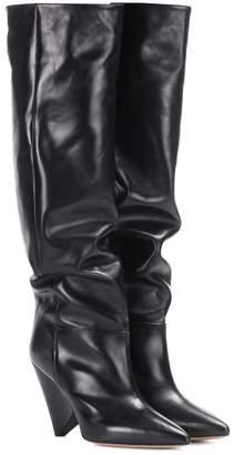 Isabel Marant Lokyo leather knee-high boots