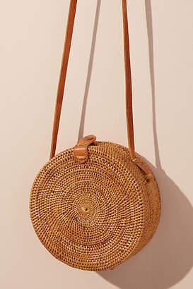 Anthropologie Lilian Woven Crossbody Bag