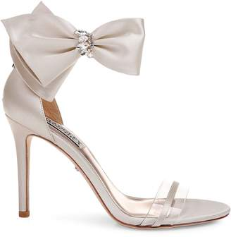 Badgley Mischka Fran Satin Sandals