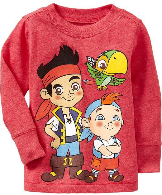 Old Navy Disney© Jake and the Never Land Pirates Tees for Baby