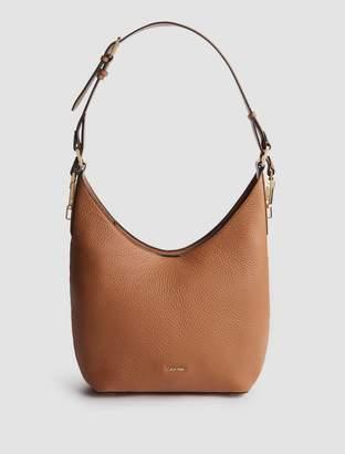 Calvin Klein pebble leather hobo