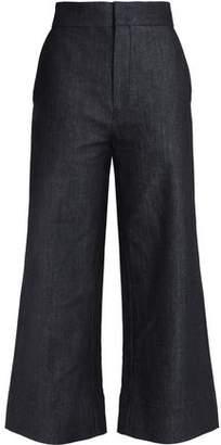 Victoria Beckham Victoria High-Rise Wide-Leg Jeans