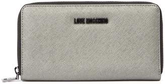 Love Moschino Gold Synthetic Wallet