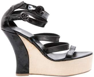 Castaner Black Patent leather Sandals