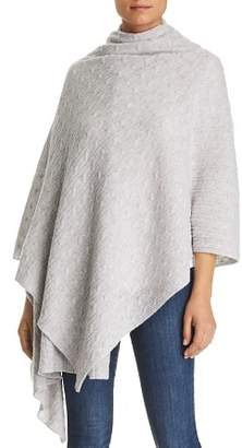 Bloomingdale's C by Cable-Knit Cashmere Travel Wrap - 100% Exclusive