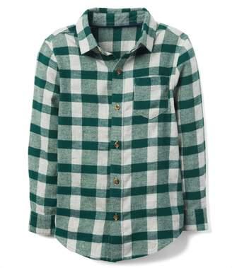 Crazy 8 Crazy8 Buffalo Check Flannel Shirt