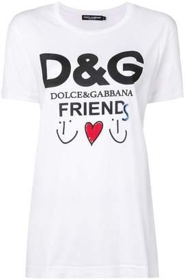 Dolce & Gabbana Friends logo T-shirt
