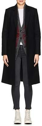 Rag & Bone Women's Diane Wool-Blend Overcoat - Black